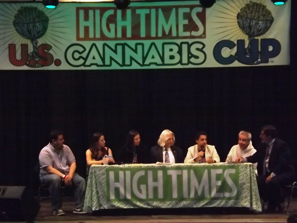 High Times Cannabis Cup panel